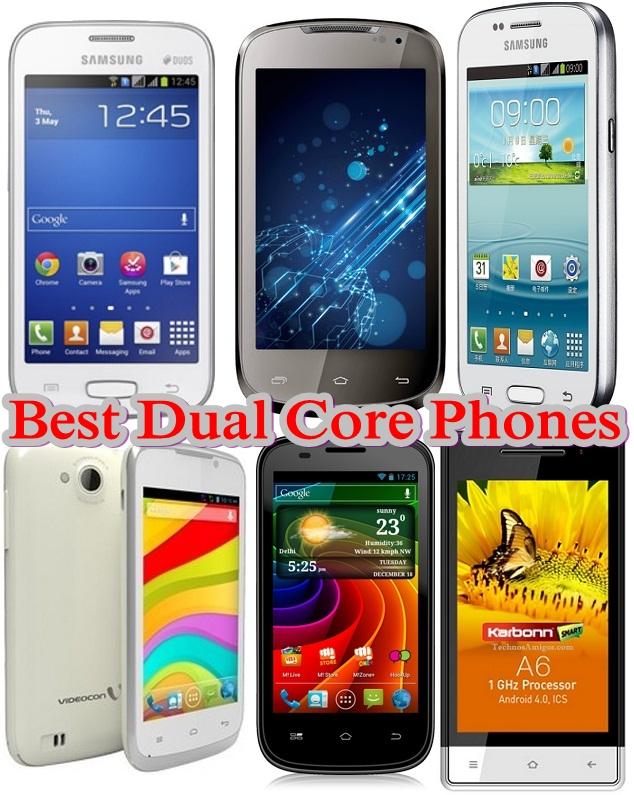 Best Dual Core phones