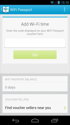 Google WiFi Passport App