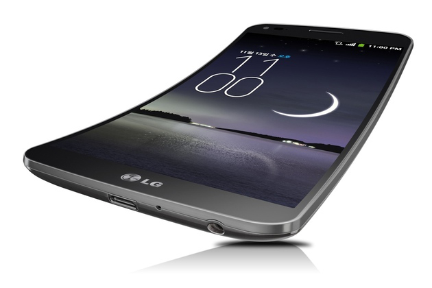 LG Curved display phone