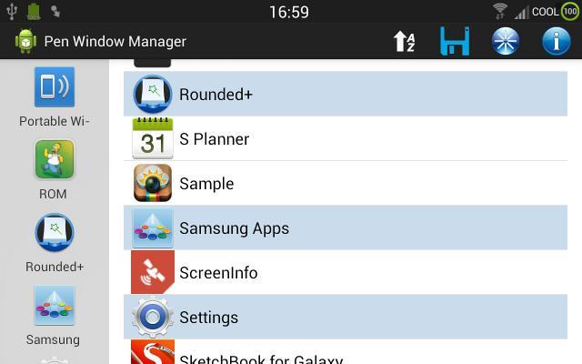 Pen Window Manager app