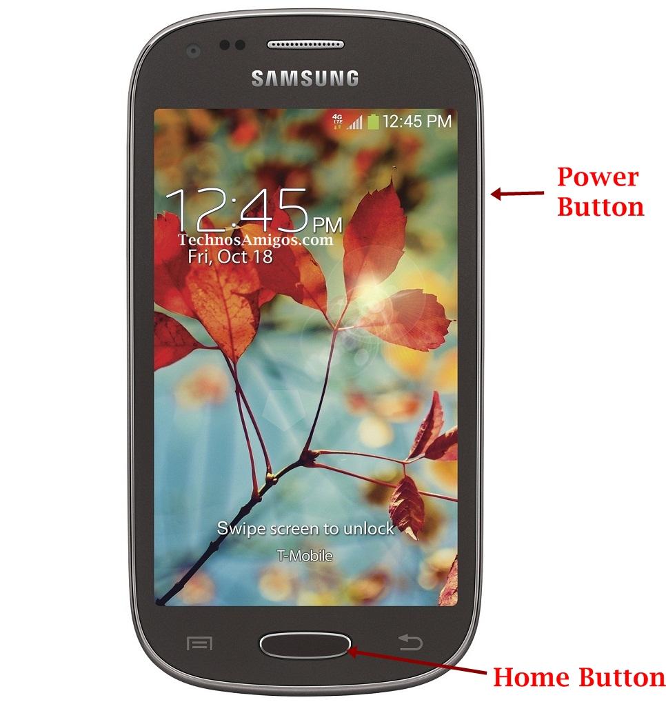 Samsung Galaxy Light Screenshot
