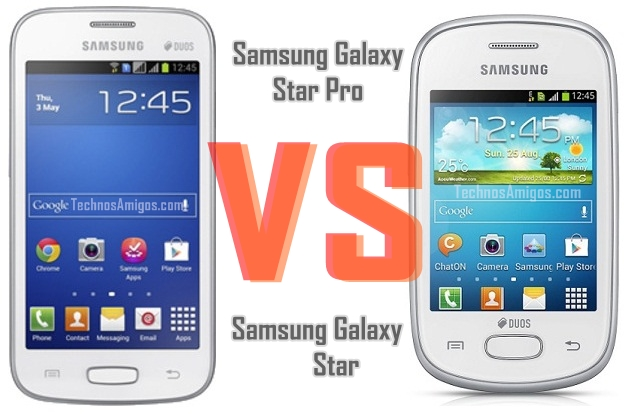 Samsung Galaxy Star Pro vs Galaxy Star
