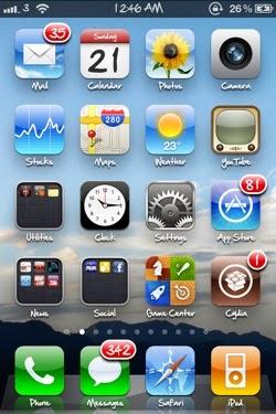 iphone 5S phone