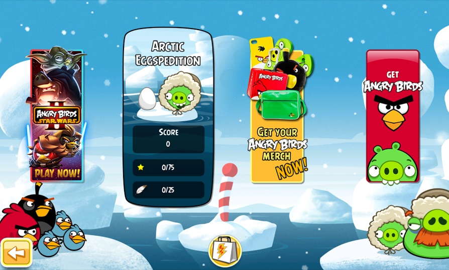 Angry Birds Arctic Eggspedition