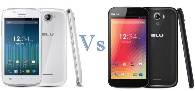 Blu Advance 4 vs Studio 5.0 II