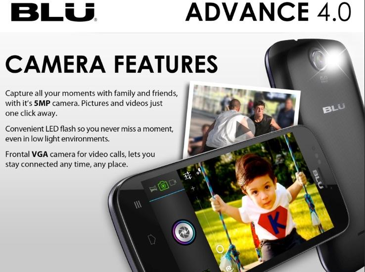 Blu Advance 4.0 Camera