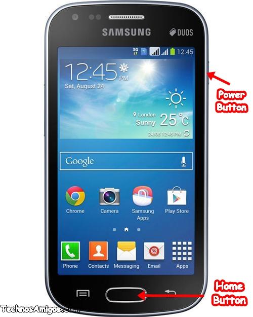 Galaxy S Duos 2 GT-S7582 Screenshot