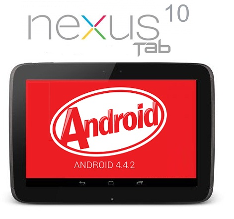 Nexus 10 Android Lollipop