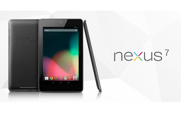 Nexus 7 tab