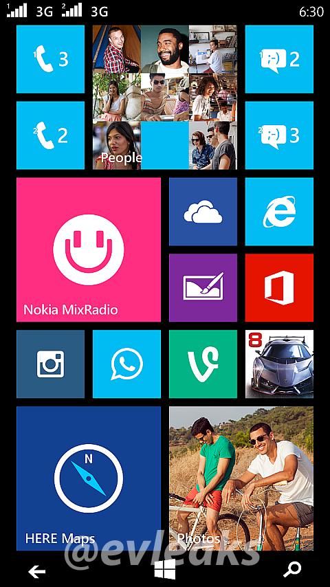 Nokia Lumia Dual SIM Phone