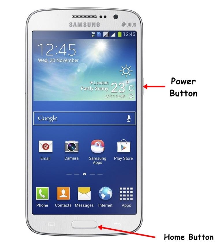 Samsung Galaxy Grand 2 Screenshot