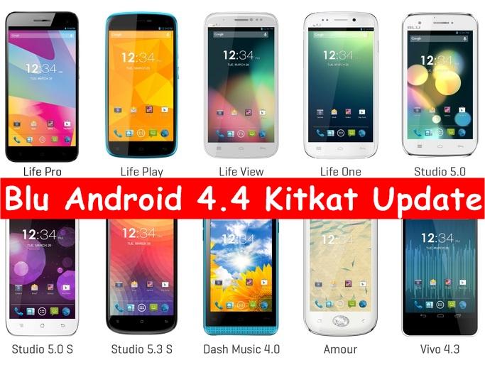 Blu Android 4.4 Kitkat