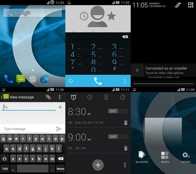 Samsung Galaxy Mini 4.4 Kitkat
