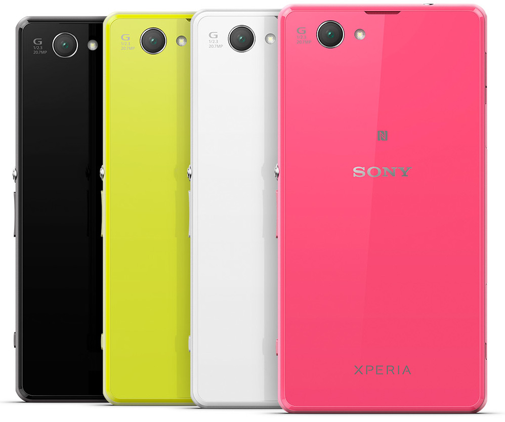 Sony Xperia Z1 Compact Colors