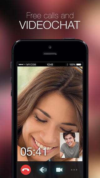 Download myChat for iPhone, Android with Free Video Chat & Messages