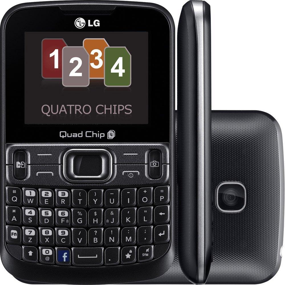 LG C299 Quad SIM Phone