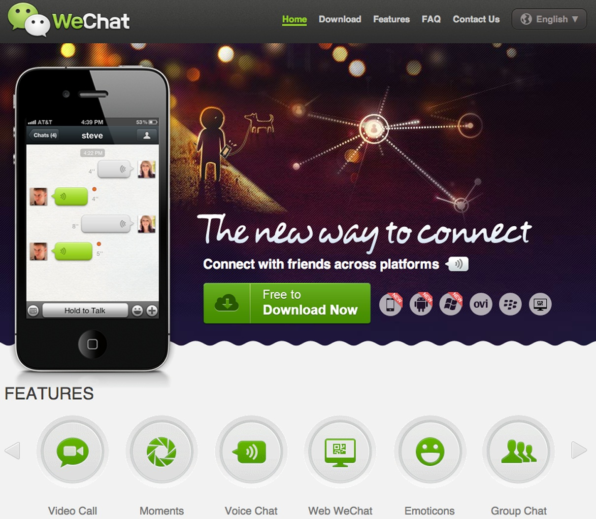 WeChat for Nokia Asha Phones