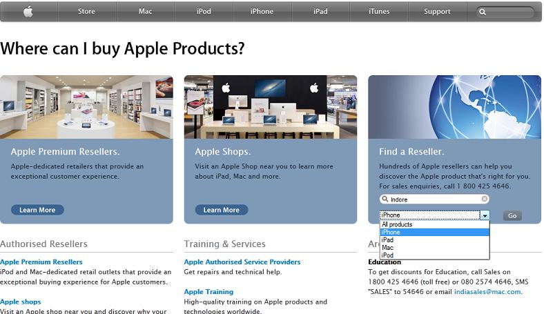 Apple Reseller Location