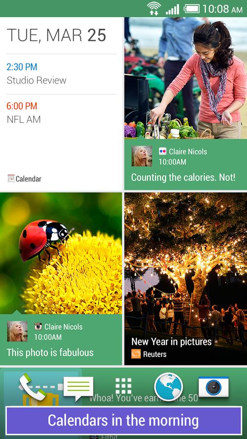 HTC BlinkFeed App