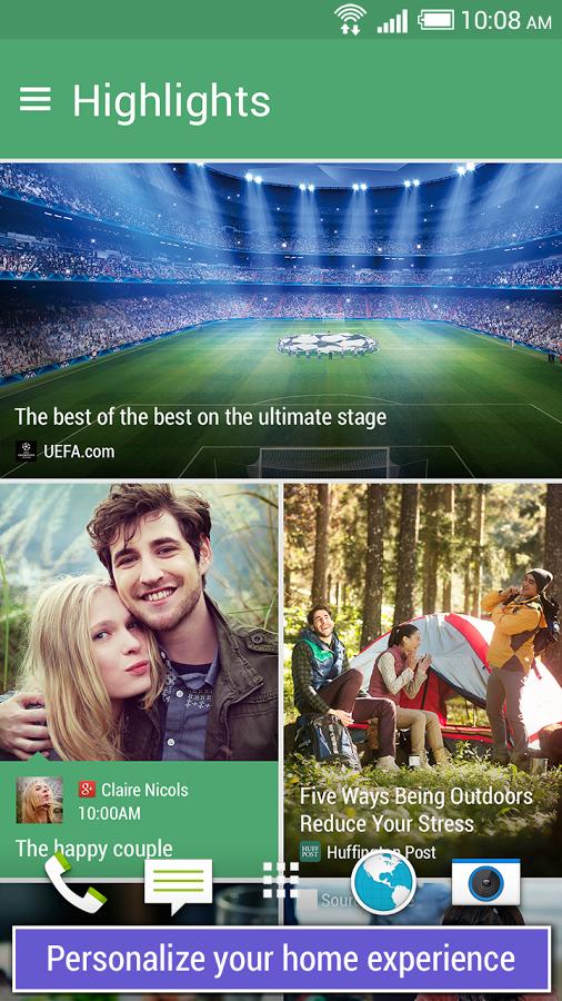 HTC BlinkFeed