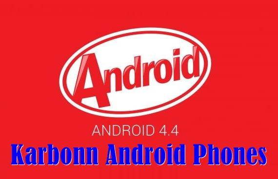 Karbonn Android Kitkat Update