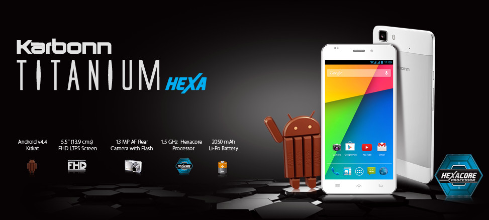 Karbonn Titanium Hexa Phone