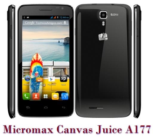Micromax Canvas Juice A177