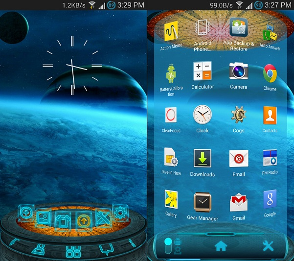 Next Launcher Android