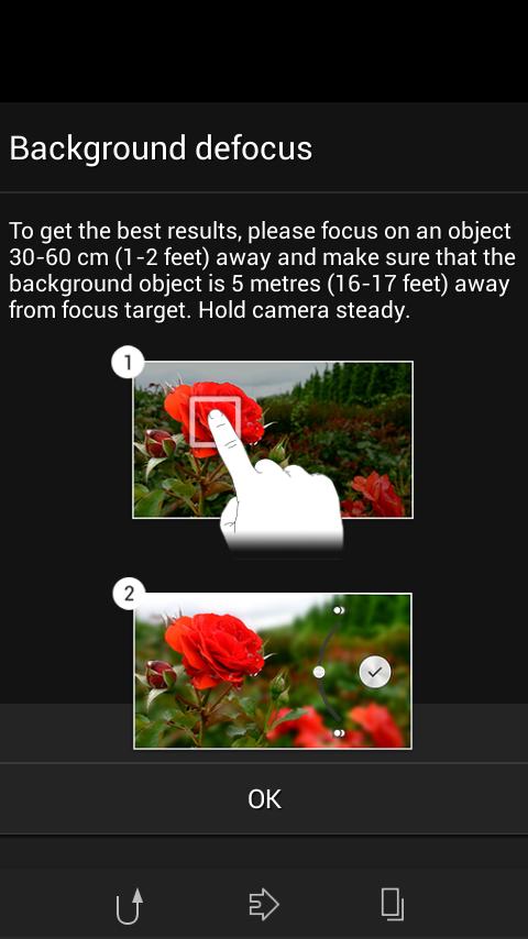 Sony Xperia Z2 Camera App