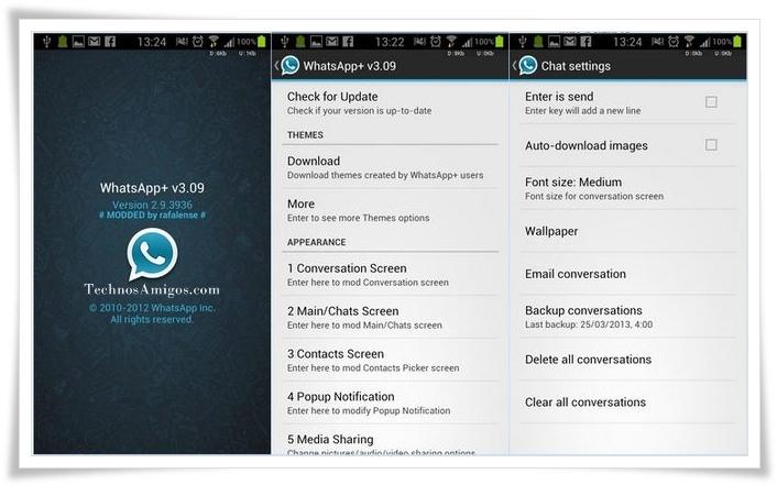 WhatsApp Plus Samsung Phones