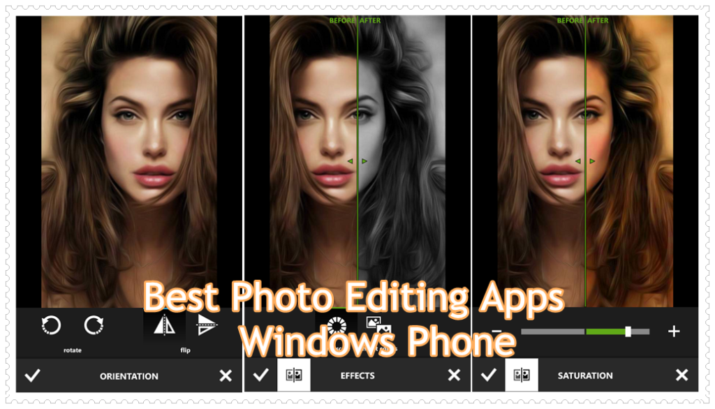 Photo Editing Windows phone