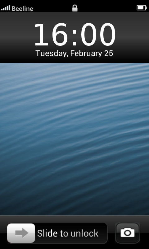 iOS 7 Lockscreen Android