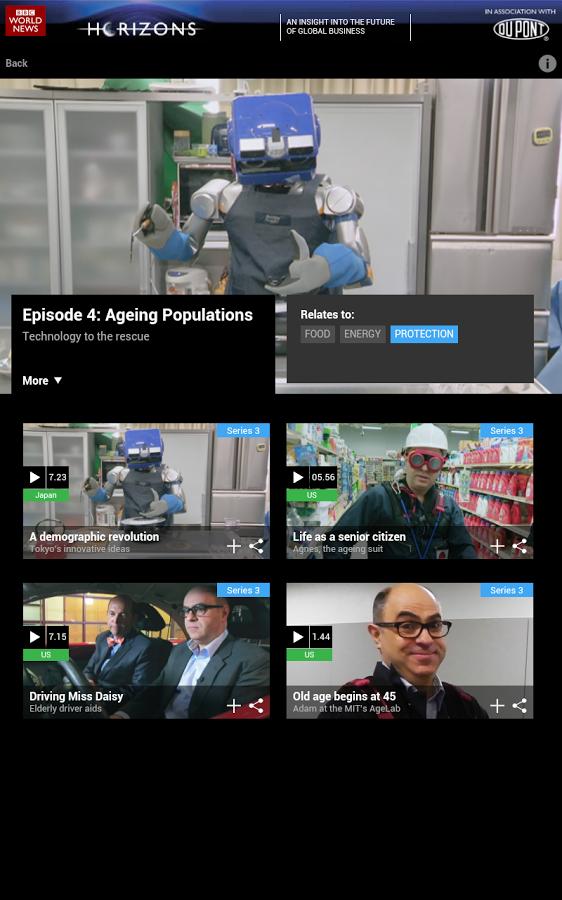 BBC Horizons App