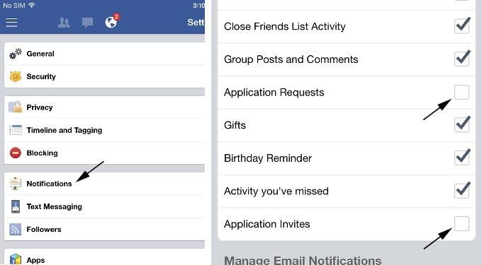 Facebook Game Request
