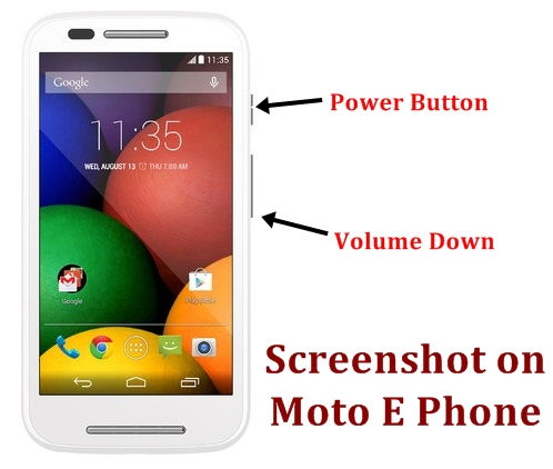 Motorola Moto E Screenshot