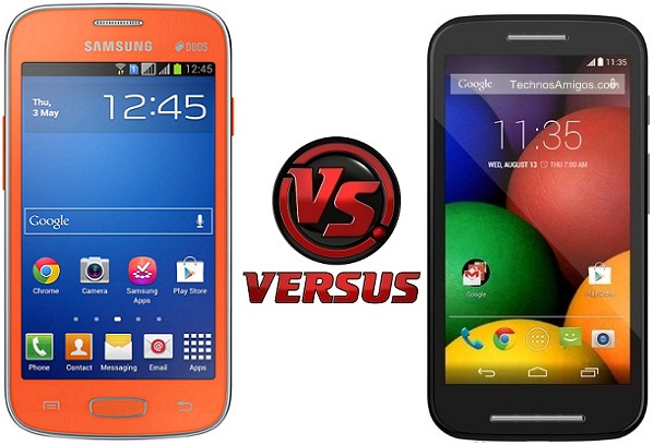 Motorola Moto E vs Galaxy Star Pro