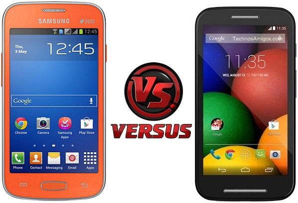 Motorola Moto E vs Galaxy Star Pro