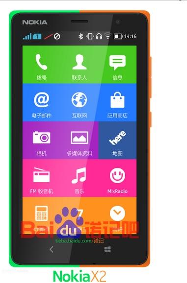 Nokiax X2 leak photos, pictures