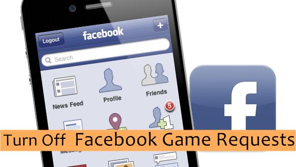 iPhone Facebook Game Request