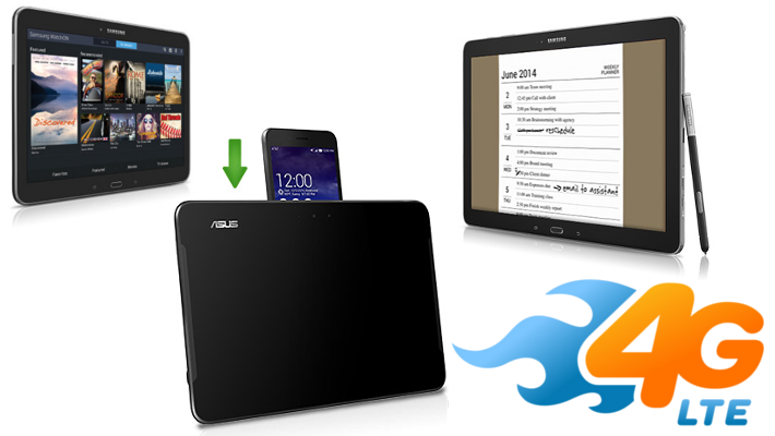 AT&T 4G LTE tablets