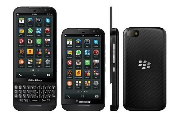 BlackBerry Recent Phones