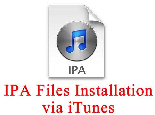 IPA File Installation