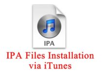 Install iPA on iTunes