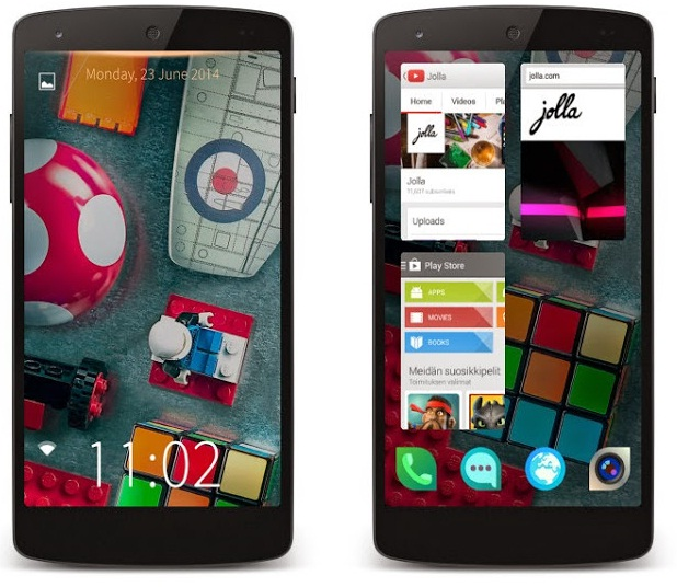 Jolla Launcher on Phone