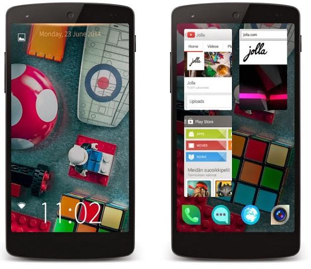 Jolla Launcher on Phone
