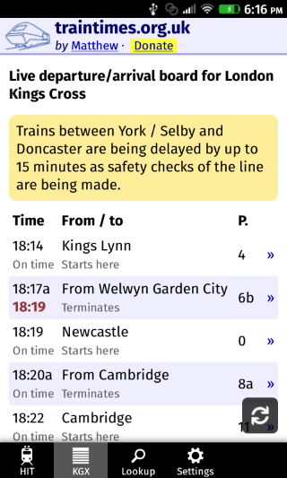 Know UK Train Timings