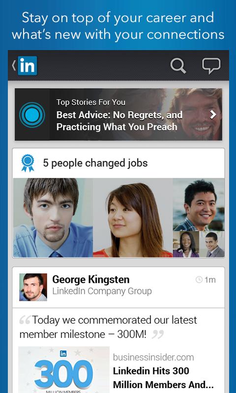 LinkedIn for PC