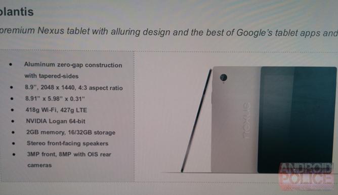 Nexus 9 release date