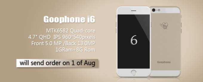 GooPhone i6 - iPhone 6 clone