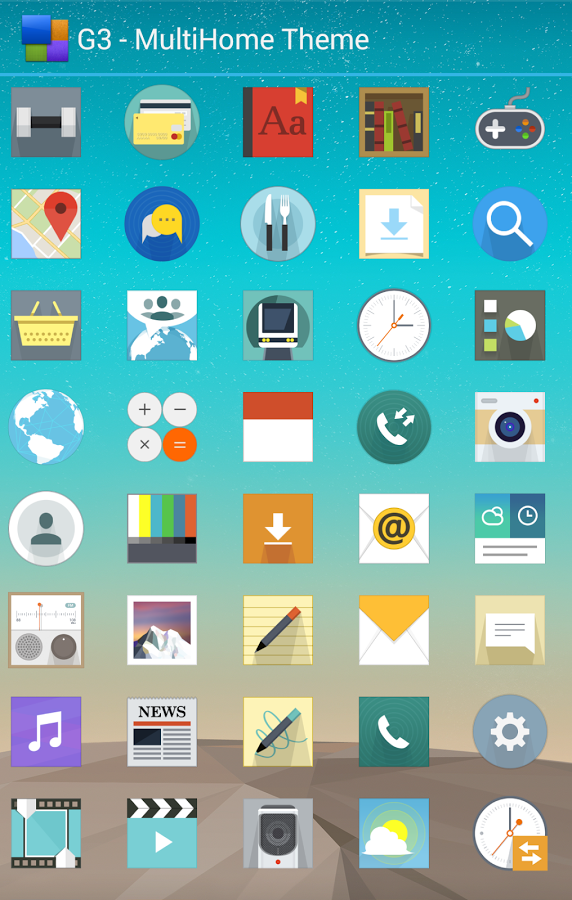LG G3 Home Launcher